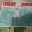 Discos de vinilo: DISCO VINILO TOMMY JAMES AND THE SHONDELLS. 2 CANCIONES MONY,MONY Y ONE, TWO, THREE AND I FELL. Lote 40989127