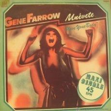 Discos de vinilo: GENE FARROW-MOVE YOUR BODY MAXI SINGLE VINILO 1978 SPAIN. Lote 40989418