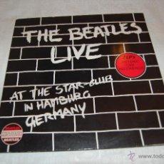 Discos de vinilo: THE BEATLES LIVE. Lote 40992938