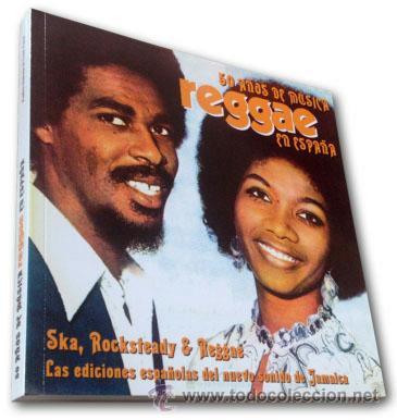 LIBRO: 50 AÑOS DE REGGAE EN ESPAÑA: SKA, ROCKSTEADY Y REGGAE - EDICIÓN LIMITADA Y NUMERADA (Música - Discos - Singles Vinilo - Reggae - Ska)