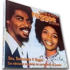 Discos de vinilo: LIBRO: 50 AÑOS DE REGGAE EN ESPAÑA: SKA, ROCKSTEADY Y REGGAE - EDICIÓN LIMITADA Y NUMERADA. Lote 68207039
