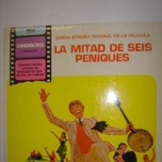 Discos de vinilo: LP. B.S.O. LA MITAD DE SEIS PENIQUES. TODO A CAUSA DE LA ECONOMIA.. RCA CINEMATRES. 1981. Lote 41002516