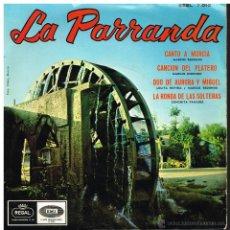 Discos de vinilo: MARCOS REDONDO / LOLITA ROVIRA / CONCHITA PANADES - LA PARRANDA - EP 196?. Lote 41007574