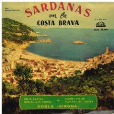 Discos de vinilo: COBLA GIRONA - SARDANAS EN LA COSTA BRAVA - EP 1958. Lote 41007644