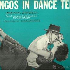 Discos de vinilo: ORQUESTA MONTILLA DIRIGIDA POR RAFAEL IBARBIA LP SELLO MONTILLA ZAFIRO AÑO 1959. Lote 41008994