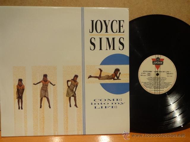 JOYCE SIMS. COME INTO MY LIFE. LP - LONDON - 1987. MUY BUENA CALIDAD. ***/*** (Música - Discos - LP Vinilo - Funk, Soul y Black Music)