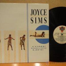 Discos de vinilo: JOYCE SIMS. COME INTO MY LIFE. LP - LONDON - 1987. MUY BUENA CALIDAD. ***/***. Lote 57717550