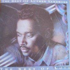 Discos de vinilo: LP - LUTHER VANDROSS - THE BEST OF LOVE (DOBLE DISCO, SPAIN, EPIC RECORDS 1989). Lote 41010246