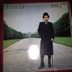 Discos de vinilo: LP ELTON JOHN - A SINGLE MAN,1978. Lote 41010319