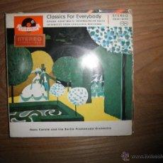 Discos de vinilo: HANS CARSTE. CLASSICS FOR EVERYBODY. EDICION ALEMANA. Lote 41012804