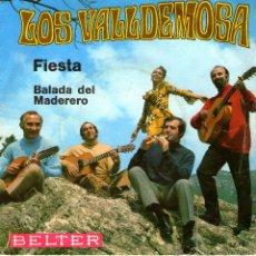 Discos de vinilo: LOS VALLDEMOSA FIESTA. Lote 41012997
