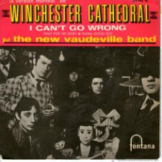 Discos de vinilo: THE NEW VAUDEVILLE BAND - WINCHESTER CATHEDRAL . Lote 41015140
