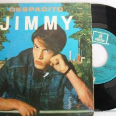 Discos de vinilo: JIMMY - DESPACITO / VEN A BAILAR - SINGLE EMI ODEON 1980 - VG+. Lote 40965637