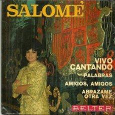 Discos de vinilo: SALOME EUROVISION 1969 EP SELLO BELTER. Lote 41021064