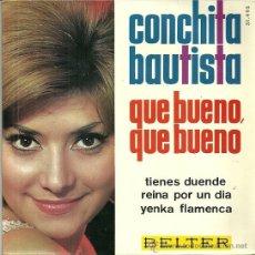 Discos de vinilo: CONCHITA BAUTISTA EUROVISION 1965 EP SELLO BELTER. Lote 41021104