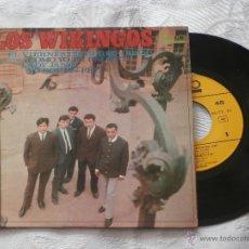 Discos de vinilo: LOS WIKINGOS 7´EP EL VIERNES DE MI RECUERDO + 3 TEMAS (1967) EXCELENTE ESTADO-COLECCION. Lote 41024173