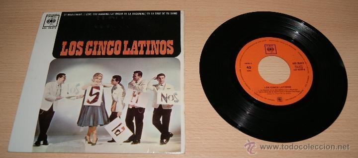 EP LOS CINCO LATINOS CON LUCIO MILENA Y SU ORQUESTA - ET MAINTENANT CBS 1962. (Música - Discos de Vinilo - EPs - Grupos y Solistas de latinoamérica)