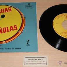 Discos de vinilo: MARCHAS ESPAÑOLAS - BANDA DE AVIACIÓN ESPAÑOLA - MONTILLA , ZAFIRO - MANUEL GOMEZ DE ARRIBA. Lote 41028940