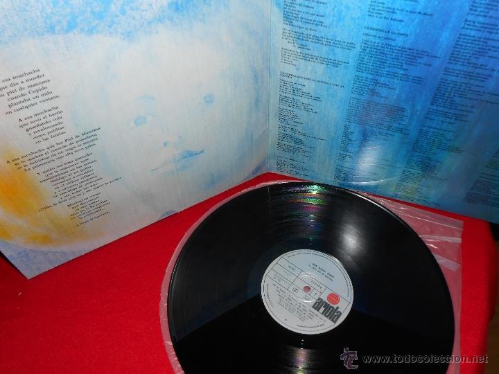 Discos de vinilo: JOAN MANUEL SERRAT...para Piel de Manzana LP 1975 Ariola PORTADA ABIERTA - Foto 2 - 41029109