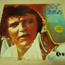 Discos de vinilo: ELVIS PRESLEY ( LOVE SONGS ) FINLANDIA LP33 K-TEL RECORDS. Lote 41032974