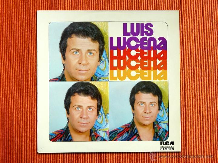 LUIS LUCENA - LUCENA LUCENA - LP (Música - Discos - LP Vinilo - Flamenco, Canción española y Cuplé)