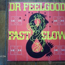 Discos de vinilo: DR. FEELGOOD - FAST WOMEN SLOW HORSES . Lote 41036690