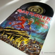 Discos de vinilo: IRON MAIDEN - RUN TO THE HILLS 7 PULGADAS - ORIGINAL UK 1982 - EMI 5263 - VINILOVINTAGE. Lote 41045995