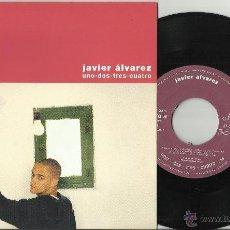 Discos de vinilo: JAVIER ALVAREZ SINGLE PROMOCIONAL UNO,DOS,TRES,CUATRO ESPAÑA 1996. Lote 76794170