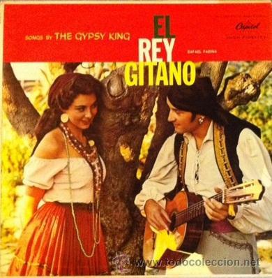RAFAEL FARINA - EL REY GITANO - EDICIÓN USA (Música - Discos - LP Vinilo - Flamenco, Canción española y Cuplé)