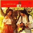 Discos de vinilo: RAFAEL FARINA - EL REY GITANO - EDICIÓN USA. Lote 41047351