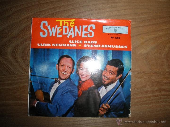 THE SWE-DANES ( ALICE BABS). EP.. WARNER BROS, EDICION ALEMANA (Música - Discos de Vinilo - EPs - Country y Folk)