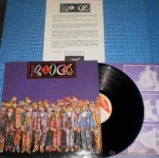 Discos de vinilo: LOS LOCOS LP ESPAÑA 1987 CON HOJA PROMO. Lote 41051667