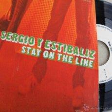 Discos de vinilo: SERGIO Y ESTIBALIZ -SINGLE 1979 -FIRMADO Y DEDICADO -IMPECABLE. Lote 41056265