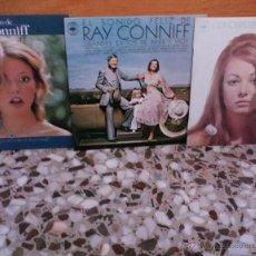 Discos de vinilo: LOTE DE 4 LPS DE RAY CONNIFF. Lote 25888217