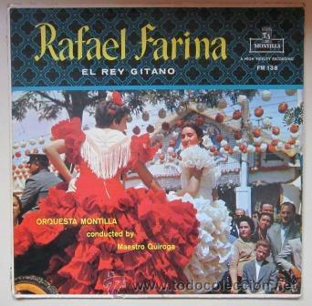 RAFAEL FARINA - LUCES DE FERIA - MONTILLA, EDICIÓN USA (Música - Discos - LP Vinilo - Flamenco, Canción española y Cuplé)