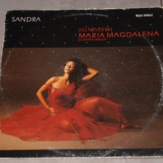 Discos de vinilo: MARIA MAGDALENA - I'LL NEVER BE - MADE IN SPAIN - MAXI. Lote 41064704