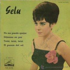 Discos de vinilo: GELU EP SELLO LA VOZ DE SU AMO AÑO 1954 AUTOGRAFIADO. Lote 41067909