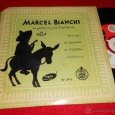 Discos de vinilo: MARCEL BIANCHI & Y SUS BRAZILIEROS FRENESI/CARIOCA/MANISERO +1 EP 195? VOGUE ESPAÑA SPAIN LATIN. Lote 41071214