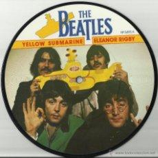 Discos de vinilo: THE BEATLES SINGLE PICTURE YELLOW SUBMARINE INGLATERRA VER IMAGENES. Lote 41074268