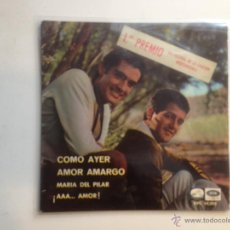 Discos de vinilo: DUO DINAMICO - EP 1966. Lote 41074477
