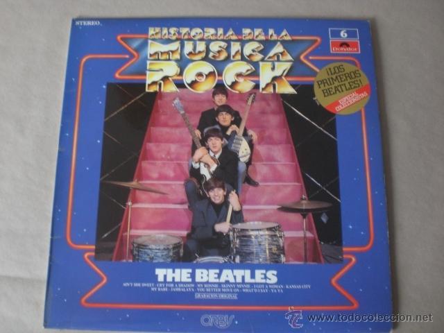 THE BEATLES-HISTORIA DE LA MUSICA ROCK -ORBIS-ESPECIAL COLECCIONISMO (Música - Discos de Vinilo - Maxi Singles - Pop - Rock Extranjero de los 50 y 60)