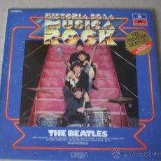 Discos de vinilo: THE BEATLES-HISTORIA DE LA MUSICA ROCK -ORBIS-ESPECIAL COLECCIONISMO. Lote 41078581