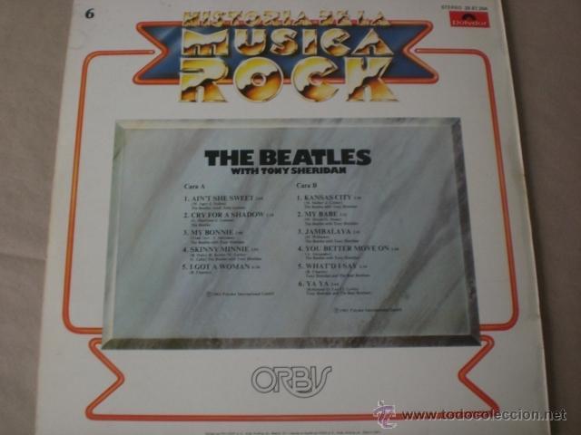 Discos de vinilo: THE BEATLES-HISTORIA DE LA MUSICA ROCK -ORBIS-especial coleccionismo - Foto 2 - 41078581