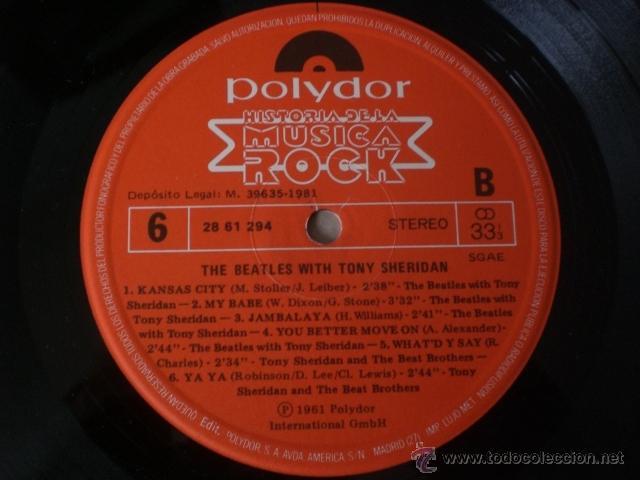 Discos de vinilo: THE BEATLES-HISTORIA DE LA MUSICA ROCK -ORBIS-especial coleccionismo - Foto 5 - 41078581