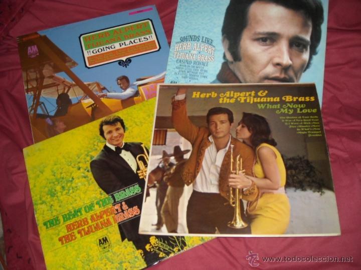 HERB ALPERT & THE TIJUANA BRASS LOTE 4 LPS ORIGINALES GERMANY (Música - Discos - LP Vinilo - Orquestas)