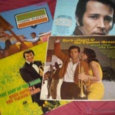 Discos de vinilo: HERB ALPERT & THE TIJUANA BRASS LOTE 4 LPS ORIGINALES GERMANY. Lote 41079654