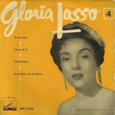 Discos de vinilo: GLORIA LASO EP SELLO MASFER AÑO 1958. Lote 41080558