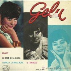 Discos de vinilo: GELU EP SELLO LA VOZ DE SU AMO AÑO 1963 . Lote 41080756