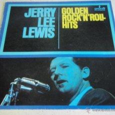 Discos de vinilo: JERRY LEE LEWIS ( GOLDEN ROCK 'N' ROLL HITS ) 1987-POLAND LP33 SUN RECORDS. Lote 41083883