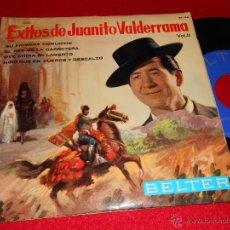 Discos de vinilo: JUANITO VALDERRAMA SU PRIMERA COMUNION/EL REY DE LA CARRETERA +2 EP 1964 BELTER EXITOS. Lote 41084233